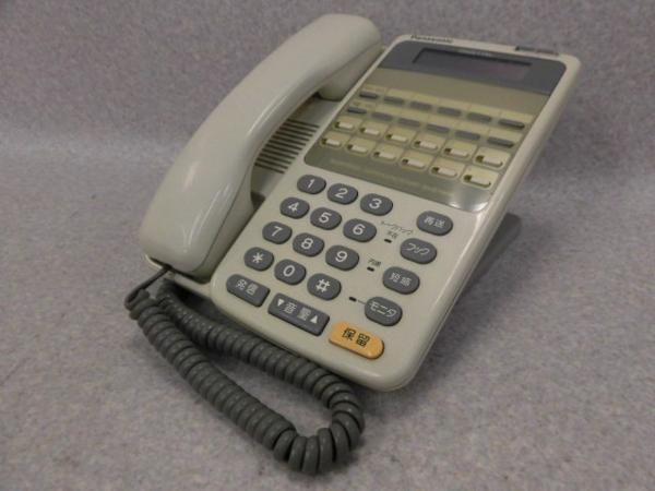 VB-3411ADPanasonic パナソニック12外線用カナ表示付電話機 中古ビジネスホン 記念日 中古ビジネスフォン 中古 ビジネスホン 期間限定今なら送料無料 電話機 業務用