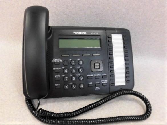 【中古】KX-UT133-BPanasonic/パナソニック SIP対応IP電話機【ビジネスホン 業務用 電話機 本体】