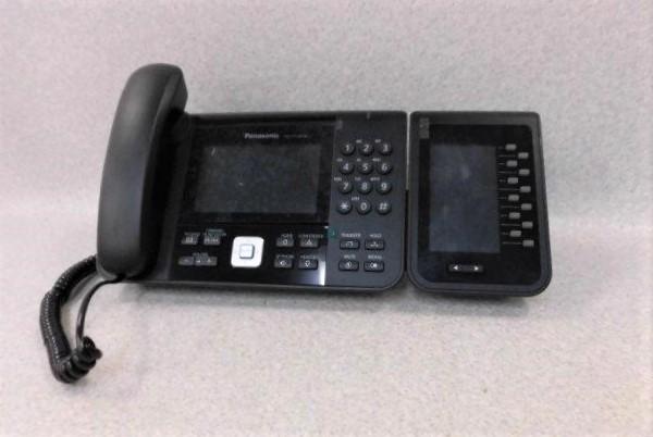 【中古】KX-UTG300B+KX-UTA336Panasonic/パナソニック SIP対応Sip Phone IP電話機 + Expansion Module【ビジネスホン 業務用 電話機 本体】