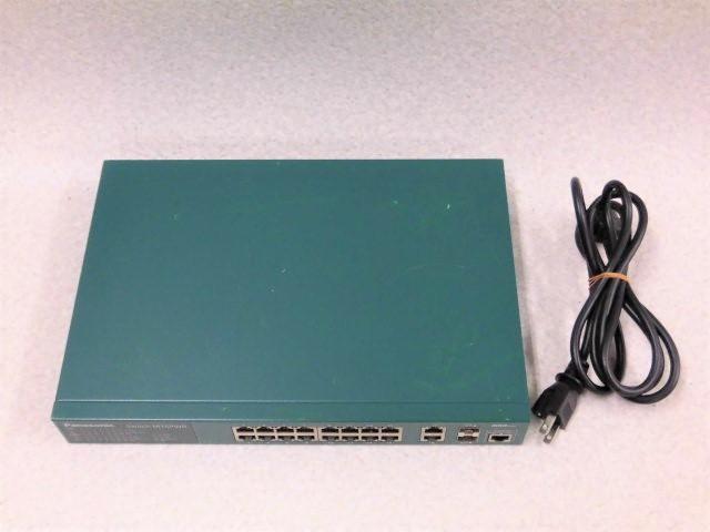 【中古】Switch-M16PWR PN23169KPanasonic/パナソニック16ポート給電ハブ【ビジネスホン 業務用 電話機 本体】