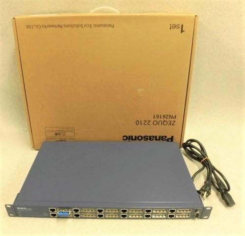 【中古】Switch-M12G MN26120 PN26161Panasonic/パナソニックGigaPortハブ【ビジネスホン 業務用 電話機 本体】