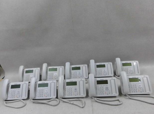 【中古】【10台セット】KX-UT136NPanasonic/パナソニック UTシリーズIP電話機【ビジネスホン 業務用 電話機 本体】