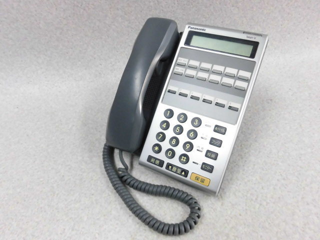 【中古】VB-E211NP-KSPanasonic/パナソニック6ボタン数字アナログ停電電話機【ビジネスホン 業務用 電話機】