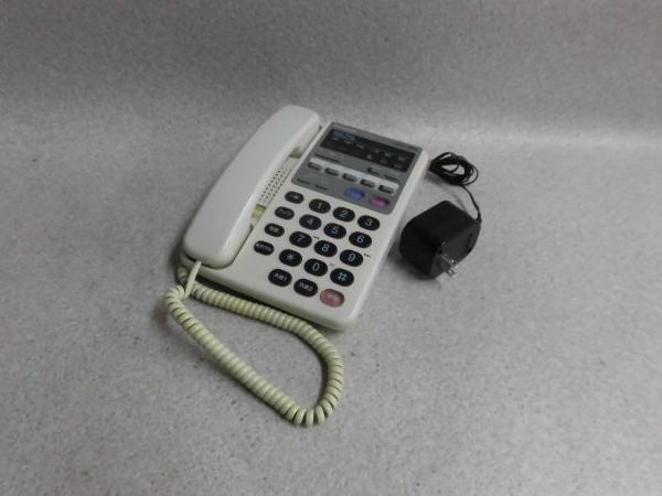 【中古】VJ-617M-WPanasonic/パナソニック 208M型留守番機能付電話機【ビジネスホン 業務用 電話機 本体】