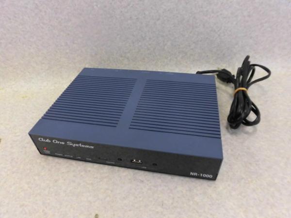 <title>NR-1000 =YAMAHA 直送商品 RTX810のOEM商品 Club One Systems ギガアクセスVPNルーター 中古ビジネスホン 中古ビジネスフォン 中古 ビジネスホン 業務用 電話機 本体</title>