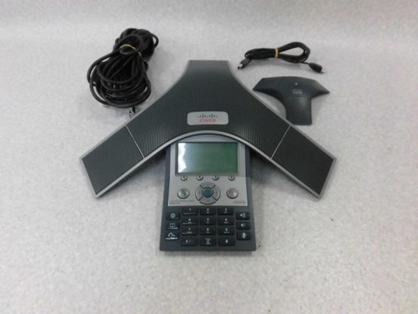 【中古】CP-7937G + External MicrophoneCISCO IP Conference Station音声会議システム【ビジネスホン 業務用 電話機 本体】