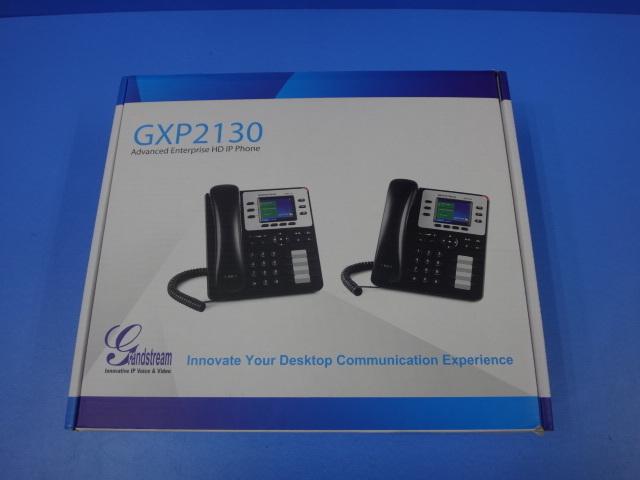 【新品】GXP2130Grandstream/グランドストリーム IP電話機【ビジネスホン 本体 中古電話機】
