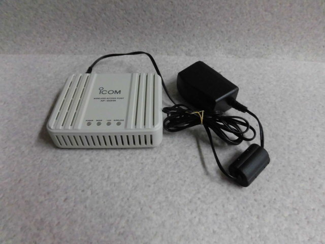 最新アイテム AP-80HRiCOM アイコムワイヤレスアクセスポイント ビジネスホン 買物 業務用 中古 本体 電話機