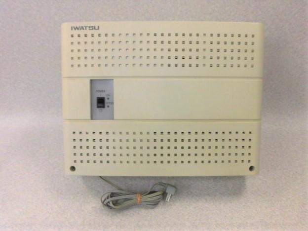 【中古】岩通(IWATSU) TELEMORE(テレモア) 用 WX-512 ME EX 主装置【ビジネスホン 業務用 主装置】