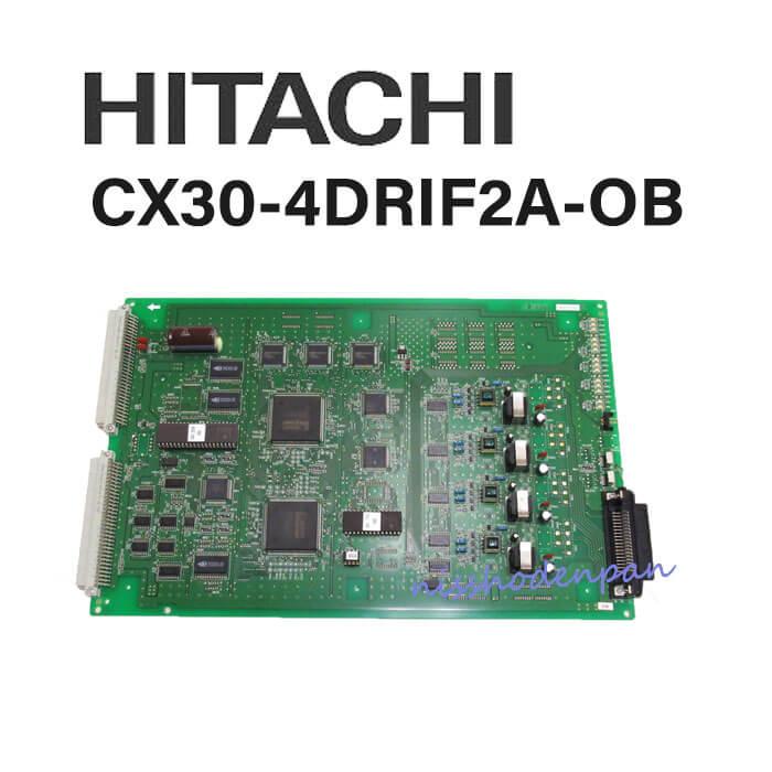 【中古】 日立/HITACHI CX8000/9000M型用 CX30-4DRIF2A-OB【ビジネスホン 業務用 電話機 本体】