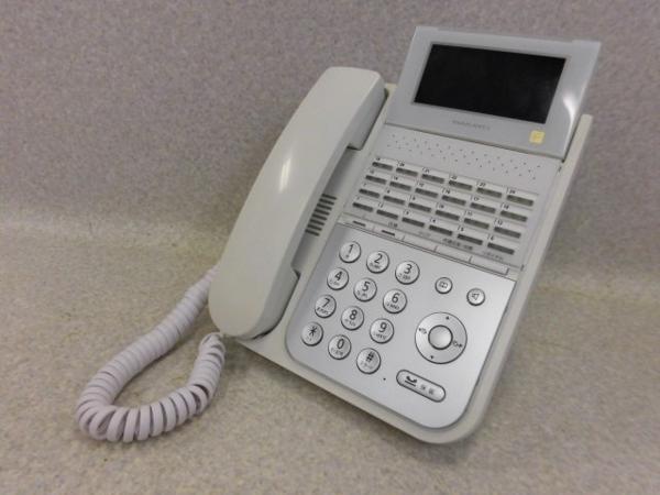 【中古】NYC-24iF-SDW ナカヨ/NAKAYO integral-F 24ボタン多機能電話機【ビジネスホン 業務用 電話機 本体】