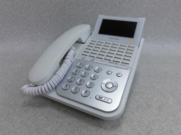 【中古】NYC-36iF-SDW NAKAYO/ナカヨ 36ボタン標準電話機【ビジネスホン 業務用 電話機 本体 子機】