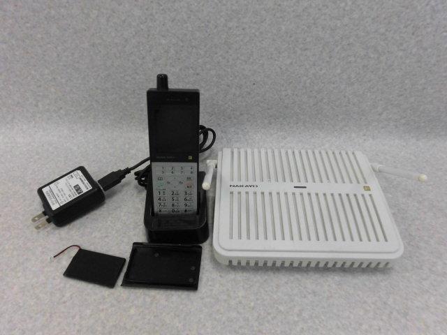 【中古】NYC-8iF-DCLS BNAKAYO/ナカヨ integral-FシングルゾーンDECTデジタルコードレス電話機【ビジネスホン 業務用 電話機 本体 子機】