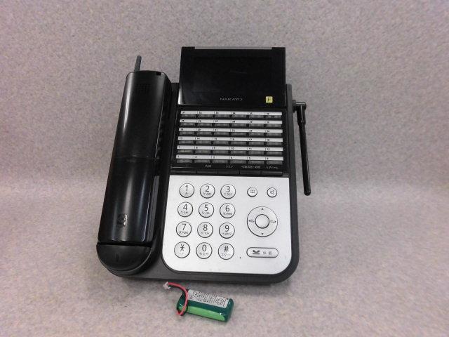 【中古】NYC-36iF-DHCL Bナカヨ/NAKAYO integral-F 36ボタンカールコードレス電話機(黒)【ビジネスホン 業務用 電話機 本体 子機】