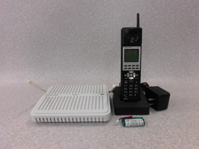 【中古】NYC-8iF-DCLL Bナカヨ/NAKAYO iF デジタルコードレス電話機【ビジネスホン 業務用 電話機 本体 子機】