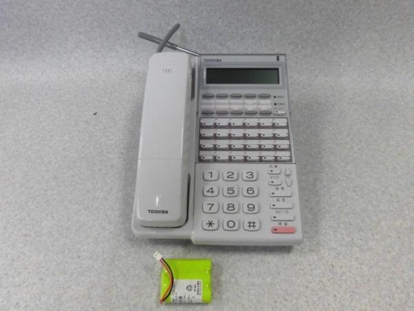 【中古】24DCL TEL 東芝/TOSHIBA カールコードレス電話機【ビジネスホン 業務用 電話機 本体】