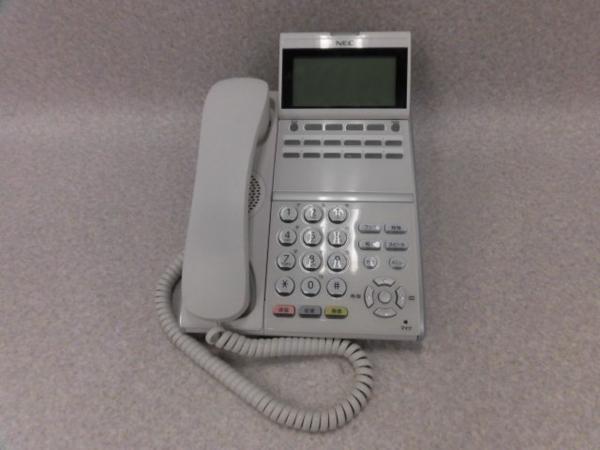 【中古】DTZ-12D-1D(WH)TEL NEC DT400シリーズ Aspire UX 12ボタンデジタル多機能電話機【ビジネスホン 業務用 電話機 本体】