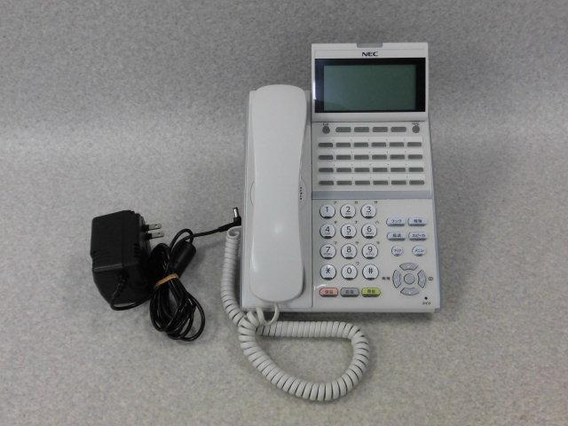 【中古】ITZ-24D-2D(WH)NEC Aspire UX24ボタンIP多機能電話機 【ビジネスホン 業務用 電話機 本体 子機】