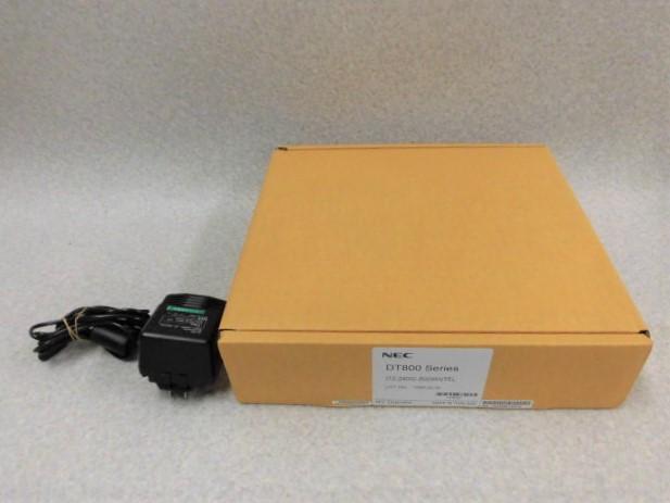 【新品】ITZ-24DG-2D(WH)TEL + 中古アダプタ付きNEC Aspire UXNEC 24ボタンIP電話機【ビジネスホン 業務用 電話機 本体 子機】