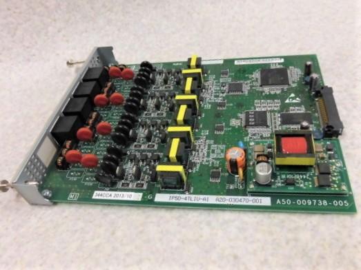 【中古】IP5D-4TLIU-A1NEC AspireUX4OD専用線(市外専用線)ユニット【ビジネスホン 業務用 電話機 基板】