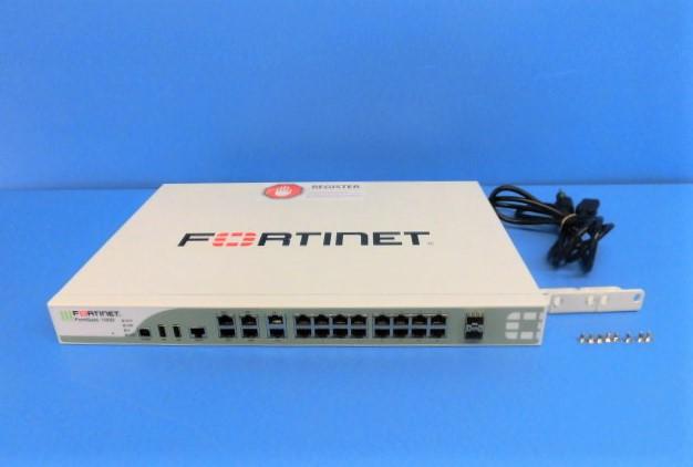 【中古】【ライセンス期限切れ】FortiGate-100D Fortinet UTM【ビジネスホン 業務用 電話機 本体】