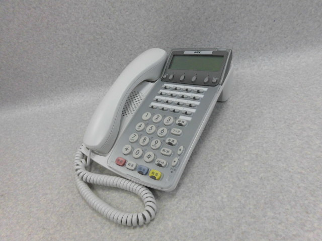 【中古】【美品】DTR-16K-1D(WH) NEC Aspire Dterm85 16ボタン漢字表示付TEL(WH)【ビジネスホン 業務用 電話機 本体】