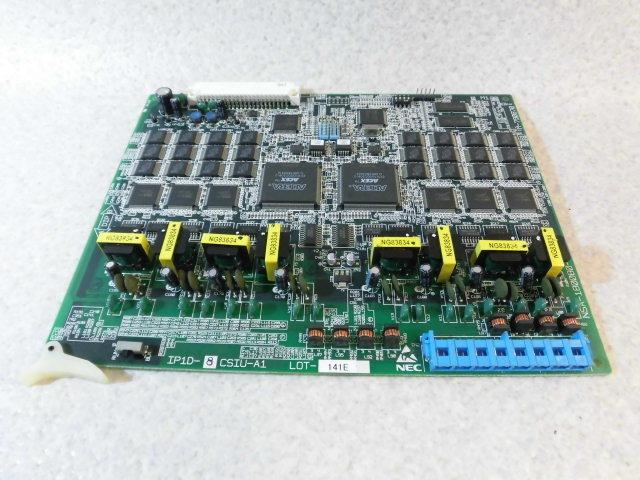 【中古】IP1D-8CSIU-A1NEC Aspire S8回線CS接続装置ユニット【ビジネスホン 業務用 基板】