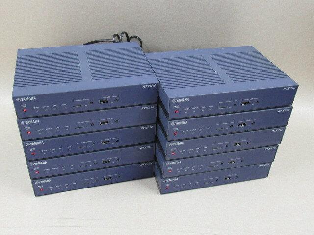 10台セット RTX810 ヤマハ YAMAHA ギガアクセスVPNルーター 日本 中古ビジネスホン 往復送料無料 ビジネスホン 電話機 中古ビジネスフォン 本体 業務用 中古