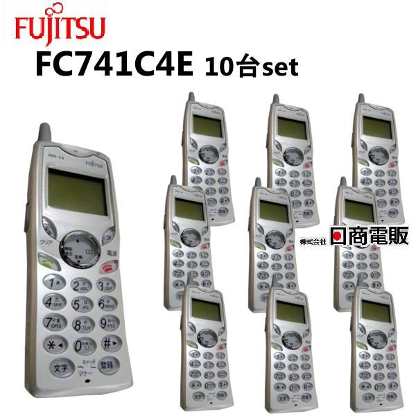【中古】【10台セット 本体】】富士通/FUJITSU IP Pathfinder FC741C4E FC741C4E IP 構内PHS電話機【ビジネスホン 業務用 電話機 本体】, キレイの森「ビューティー」:a49f0750 --- acessoverde.com