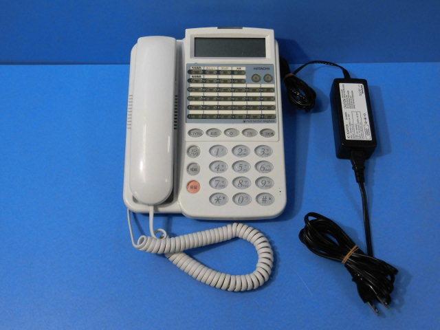 【中古】IP-24C-TEL-SDB (AC-ADP付)日立/HITACHI MX300IP/MX900IP24Cボタン多機能電話機【ビジネスホン 業務用 電話機 本体】
