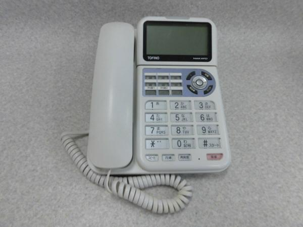 NYC-2F-PFナカヨ NAKAYO TOFINO8ボタンアナログ停電電話機 メーカー直送 中古ビジネスホン 中古ビジネスフォン ビジネスホン 電話機 本体 中古 高額売筋 業務用