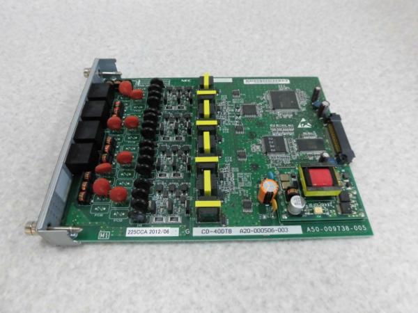 【中古】CD-4ODTB NEC SV8300 4OD専用線(市外専用線)ユニット【ビジネスホン 業務用】