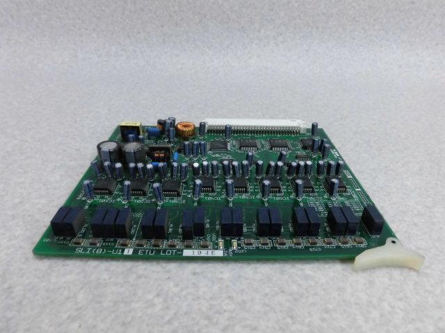 【中古】SLI(8)-U11 ETUNEC POPURE SOLUTE300 8単体電話機ユニット【ビジネスホン 業務用 ユニット】