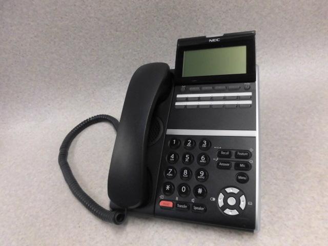 【中古】DTZ-12D-3P(BK)TELNEC SV8300/SV8500に対応12ボタン電話機【ビジネスホン 業務用 電話機 本体】