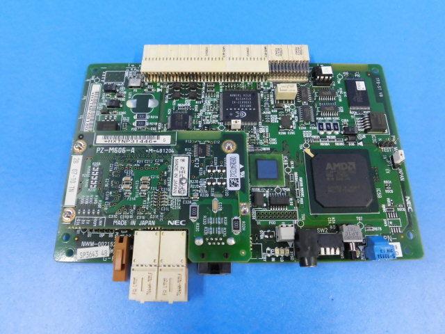 【中古】PN-CP29-D+PZ-M606-ANEC APEX3600i CPUユニット【ビジネスホン 業務用 基板】