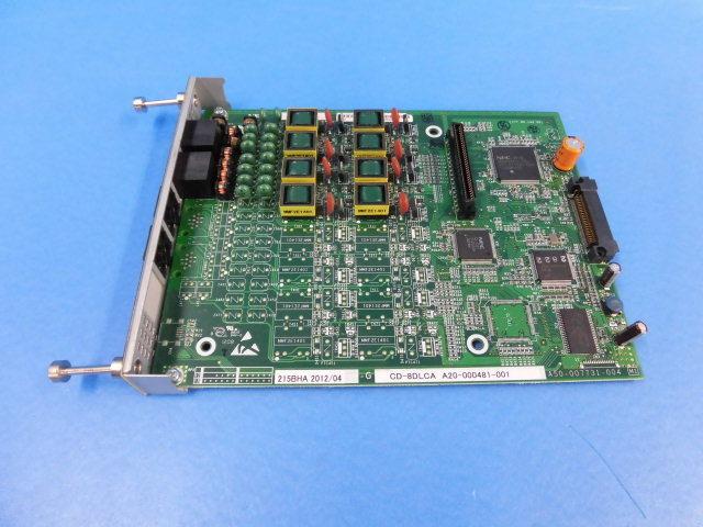 【中古】CD-8DLCA NEC SV8300/SV8100 8多機能電機ユニット【ビジネスホン 業務用】