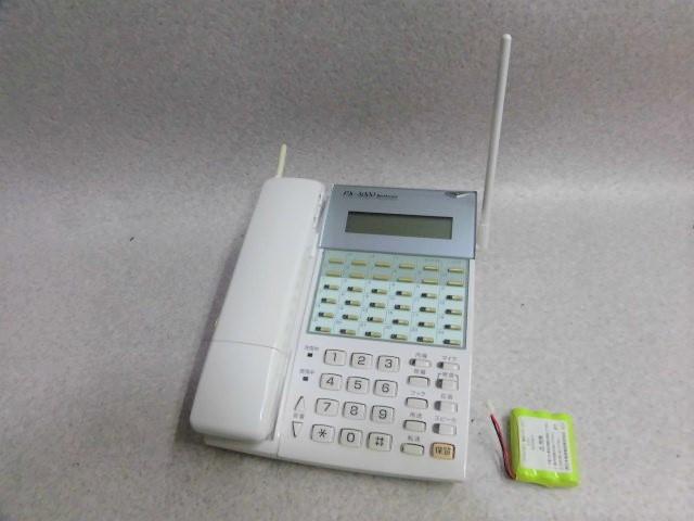 【中古】DX2D-24PTXCL電話機(LG) NEC 日通工 PX-3000 24ボタンカールコードレス電話機【ビジネスホン 業務用 電話機 本体 子機】