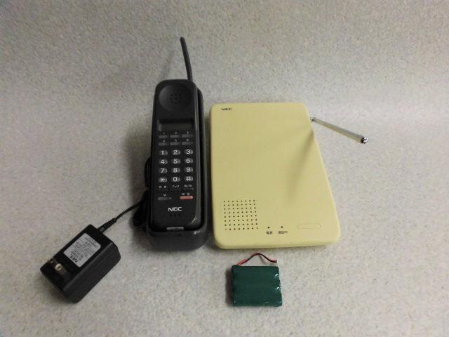 【中古】ETW-6MR-1D(BK) NEC Dterm60 コードレス【ビジネスホン 業務用 電話機 本体 子機】