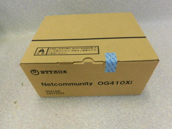 【新品】 NTT Netcommunity OG410Xi VoIPルーター【ビジネスホン 業務用 電話機 本体】