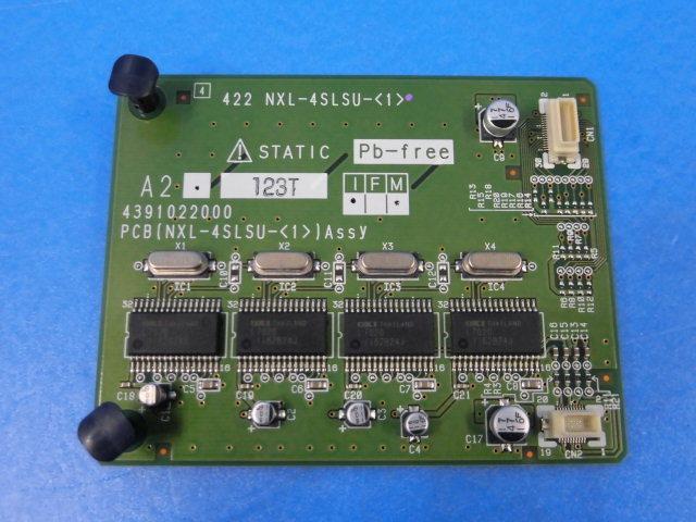 【中古】NXL-4SLSU-(1)NTT αNX-L4単体電話機サブユニット【ビジネスホン 業務用】
