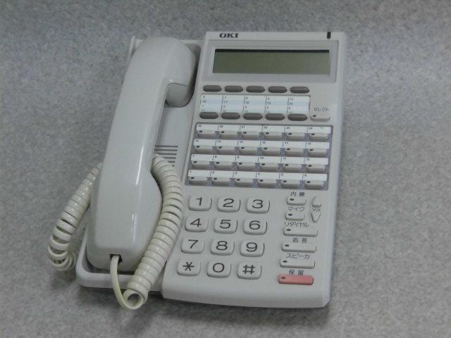 【中古】MKT/E-24D形沖電気/OKI DI212124ボタン標準電話機 【ビジネスホン 業務用 電話機 本体】