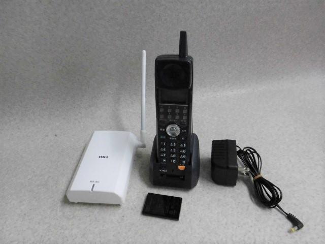 【中古】CL-8DK-B+CL-HS-B OKI/沖電気 CrosCore/クロスコアコードレス電話機【ビジネスホン 業務用 電話機 本体 子機】