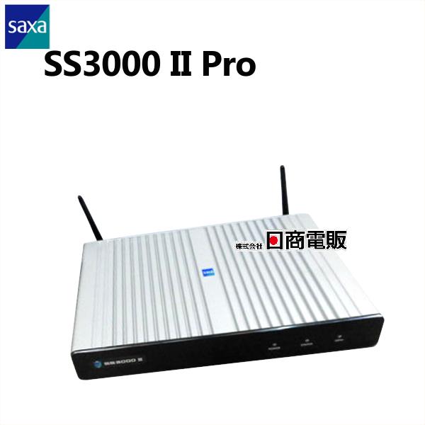 【中古】ライセンス2024年1月10日までSAXA/サクサ SS3000 II Pro UTM(統合脅威管理アプライアンス)【ビジネスホン 業務用 電話機 本体 子機】