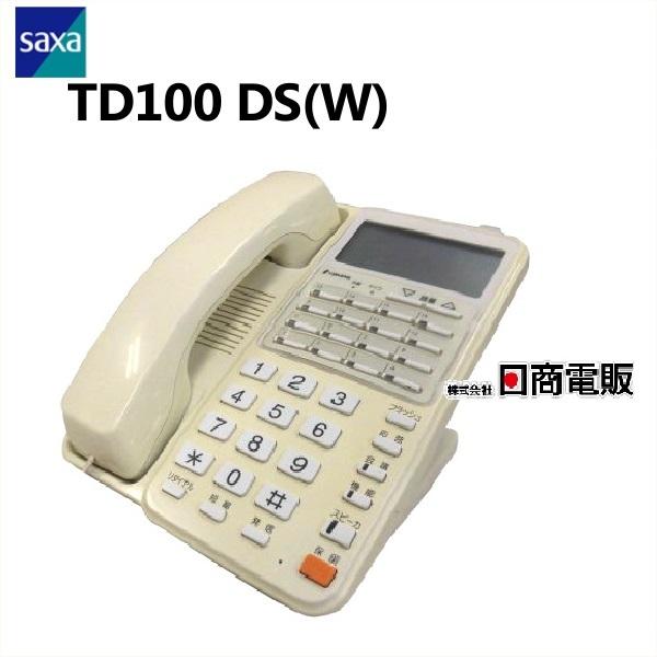【中古】TD100 DS(W)TAMURA/タムラ MTシリーズ 16ボタン電話機【ビジネスホン 業務用 電話機】