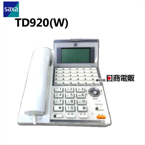 TD920 W 卓抜 SAXA サクサ AGREA LT90030ボタン標準電話機 中古ビジネスホン 業務用 新商品 新型 ビジネスホン 電話機 中古ビジネスフォン 本体 中古