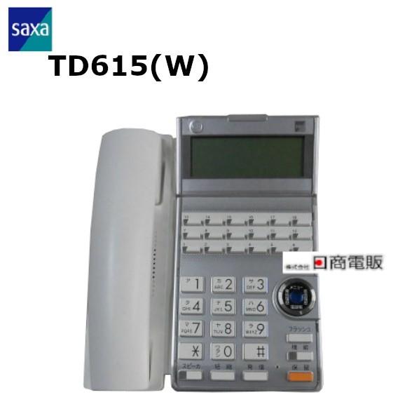 TD615 新作 W SAXA サクサ HM700用 送料無料新品 18ボタン多機能電話機 中古ビジネスホン 本体 業務用 ビジネスホン 中古ビジネスフォン 中古 電話機