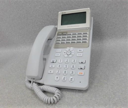 【中古】A1-(24)IPFSTEL-(B1)(W)NTT αB1 24ボタンスターISDN停電電話機【ビジネスホン 業務用 電話機 本体】