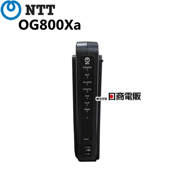 【中古】【東製/脚なし】OG800Xa 「1」 NTT Netcommunity アナログVoIPアダプター(ひかり電話対応)【ビジネスホン 業務用 電話機 本体】
