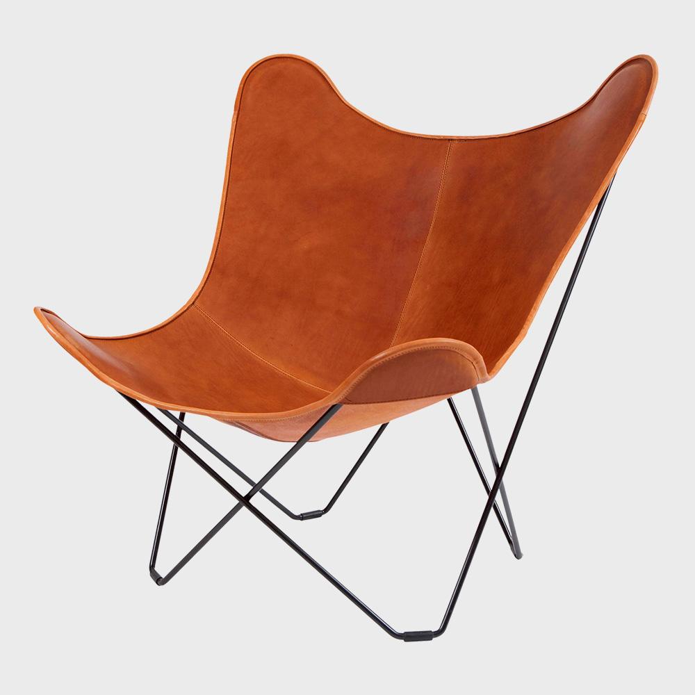 3980円~送料無料 ギフトラッピング 有料 対応可能 注目ブランド 北欧スウェーデン ブラウンレザー 在庫処分 BKF Chair BKFチェア