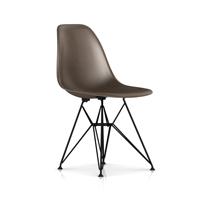 【正規保証5年】ハーマンミラー社 イームズ 椅子 FRPシェルチェア ワイヤーベース サイドチェア(シールブラウン×ブラック)